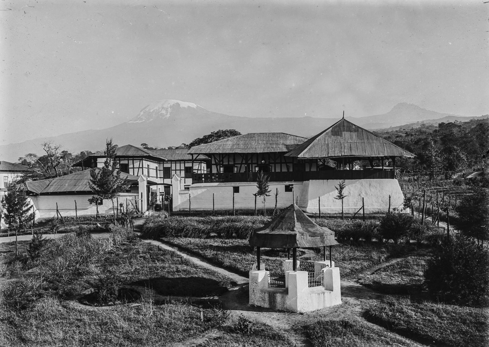 121. Станция немецкого общества Восточной Африки (ДОАГ) в Моши