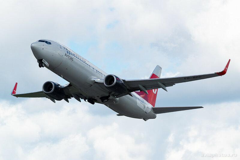 Boeing 737-8SH (VQ-BDC) Nordwind 0408_D803325