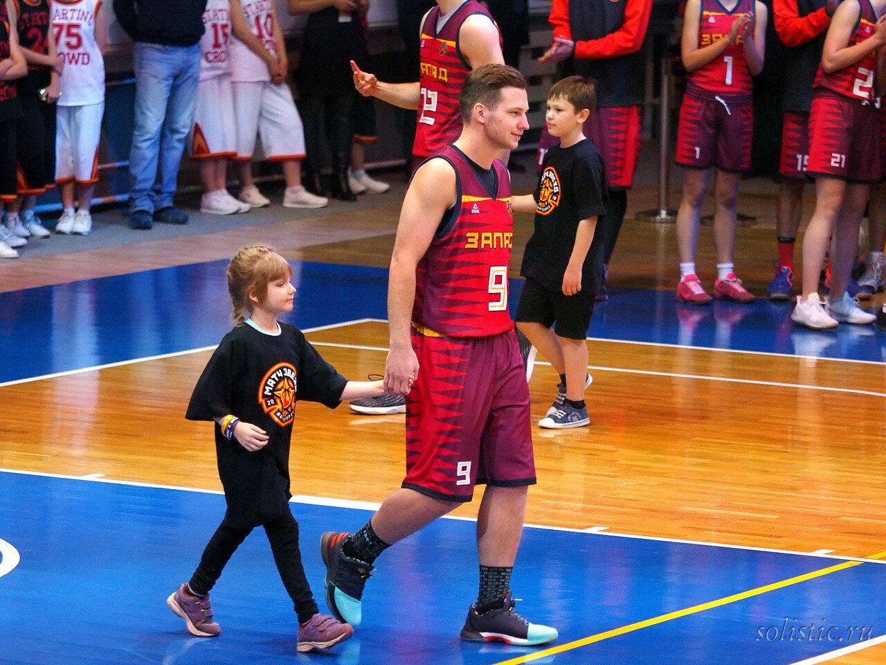 44 Матч звезд АСБ 2018 (ассоциации студенческого баскетбола)