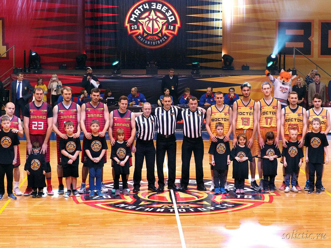49 Матч звезд АСБ 2018 (ассоциации студенческого баскетбола)