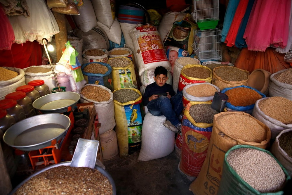 Птичий рынок в Кабуле