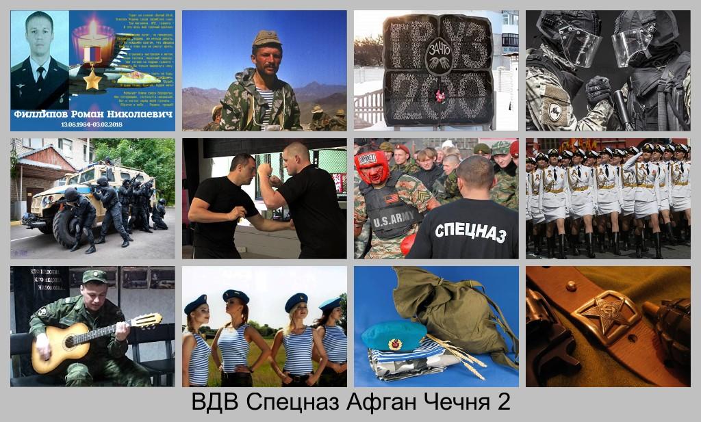 Видео. ВДВ. Спецназ. Афган. Чечня.