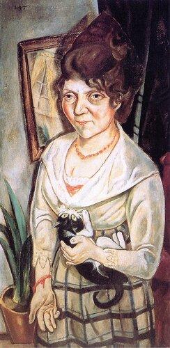 Max Beckmann - Portrait of Fridel Battenberg