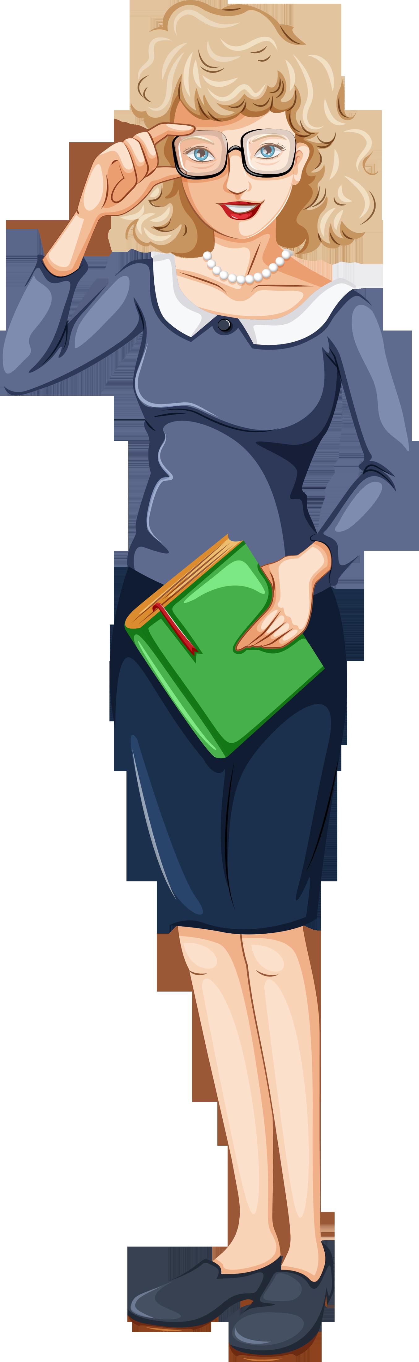 картинка воспитатель с книгой на прозрачном фоне основы