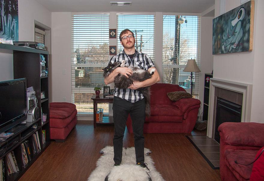 """0 1810d5 3a08ed1d orig - Фотоподборка на тему """"Одинокие мужчина со своими котами"""""""