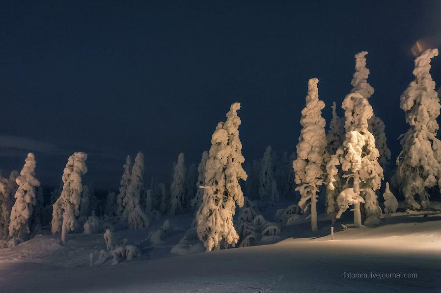 Зима в Лапландии
