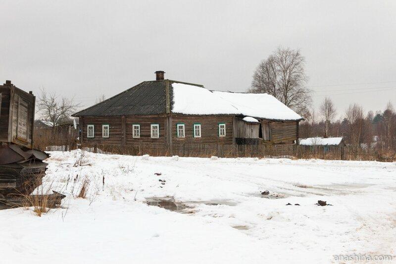 Дома в Саминском Погосте