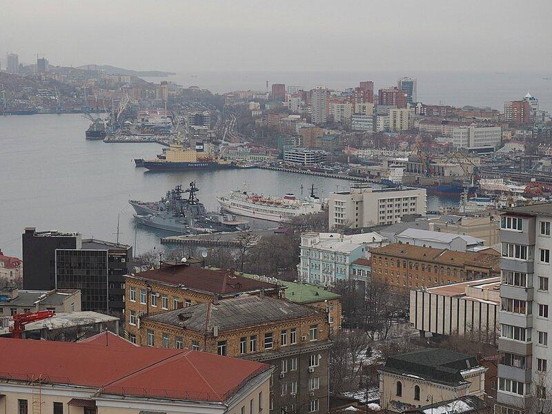 Владивосток, смотровая площадка (Vladivostok, observation deck)
