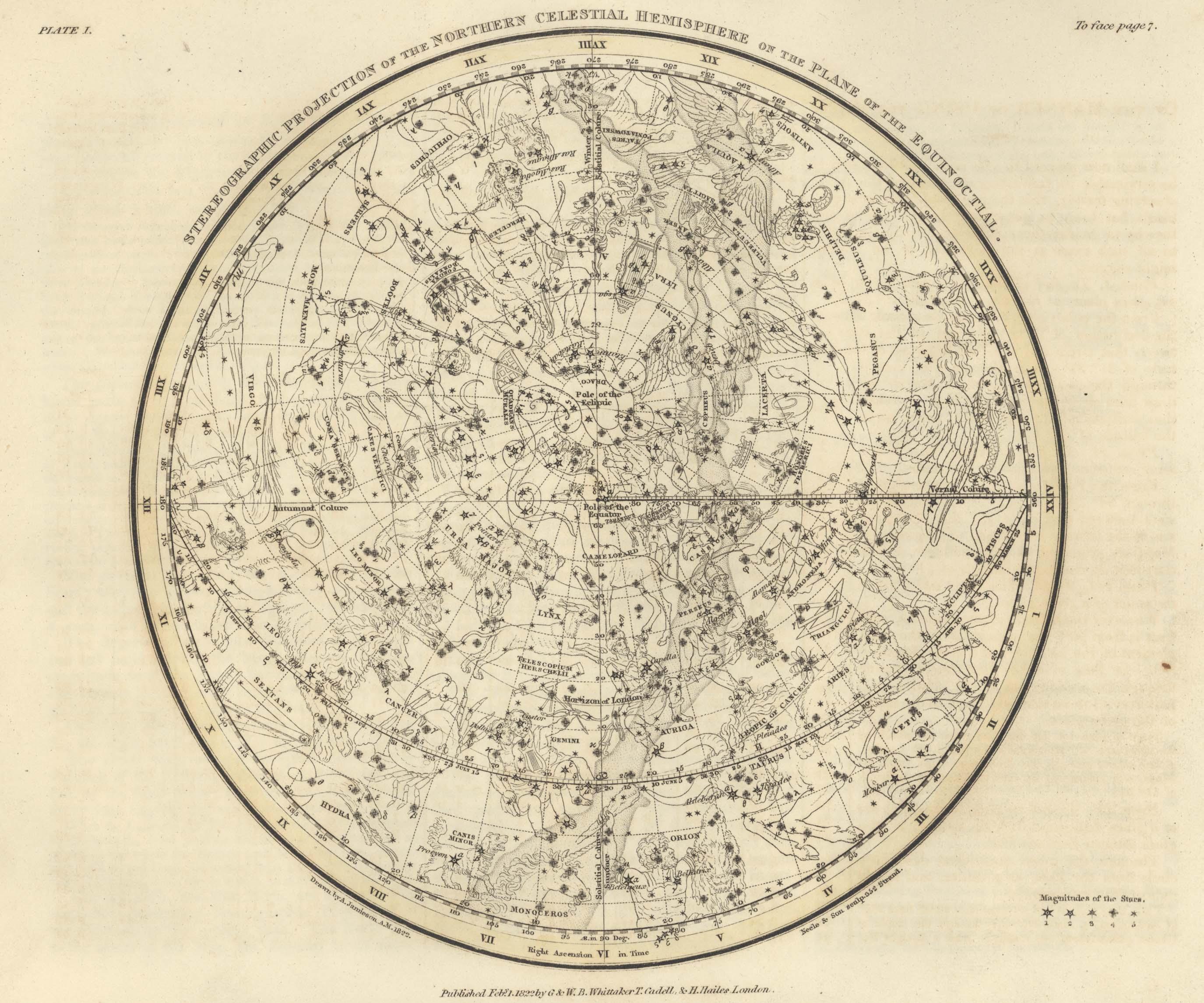 Страница №4: Изображение Северной полусферы