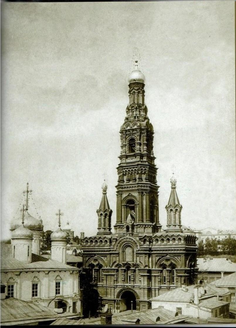 Богоявленский храм на Проломной. Колокольня