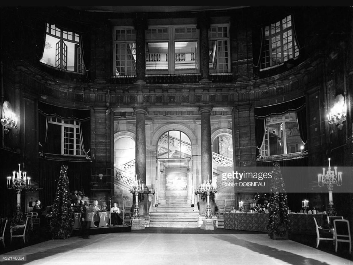 1950. Отель Ламбер. Бал 2 июняg