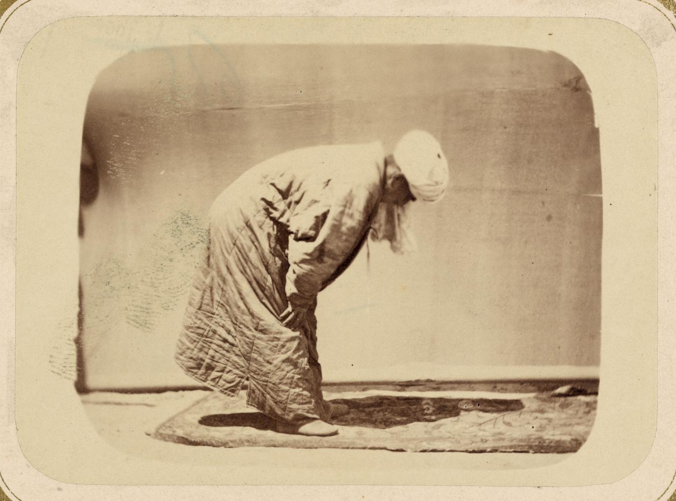 Обряды, совершаемые мусульманами при молитве. Поясной поклон (Руку)