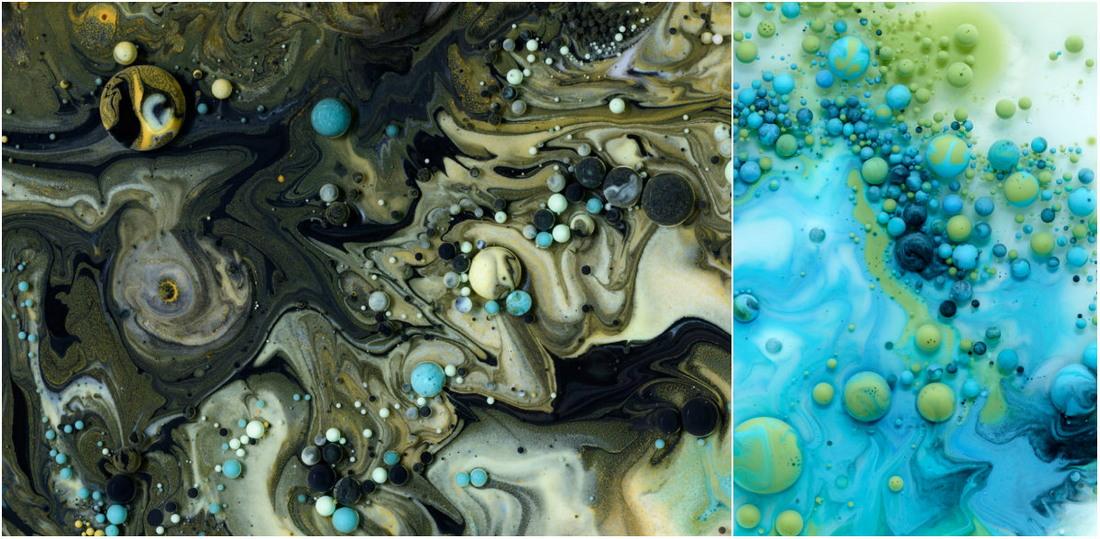 «Жидкие» снимки Марселя Криста