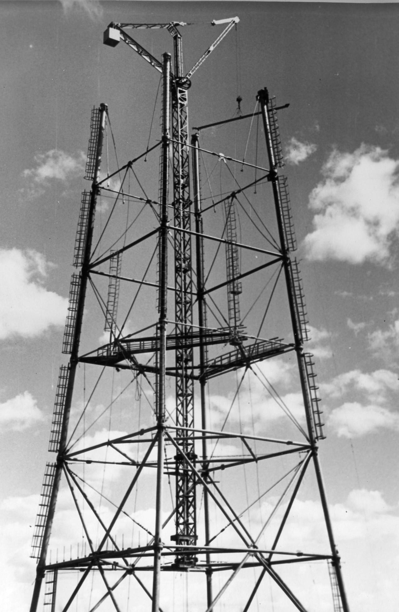Строительство телебашни в Березниках