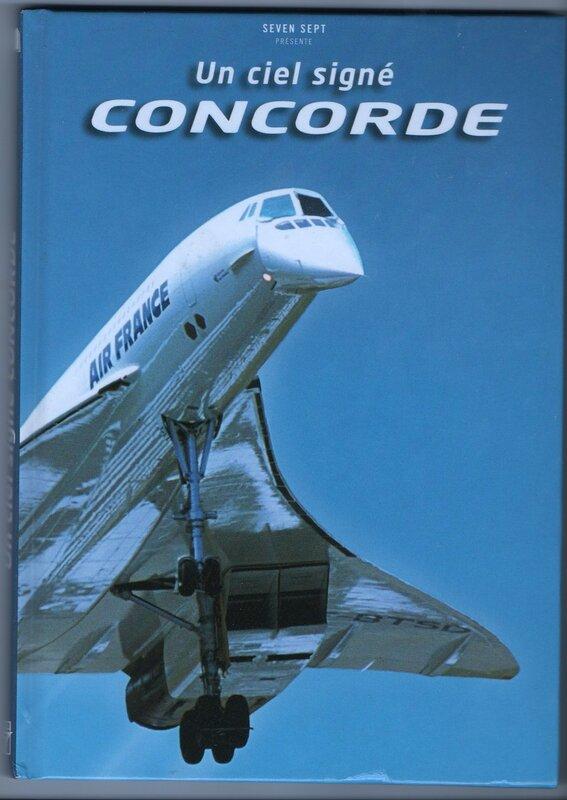 Книга о самолёте Concord