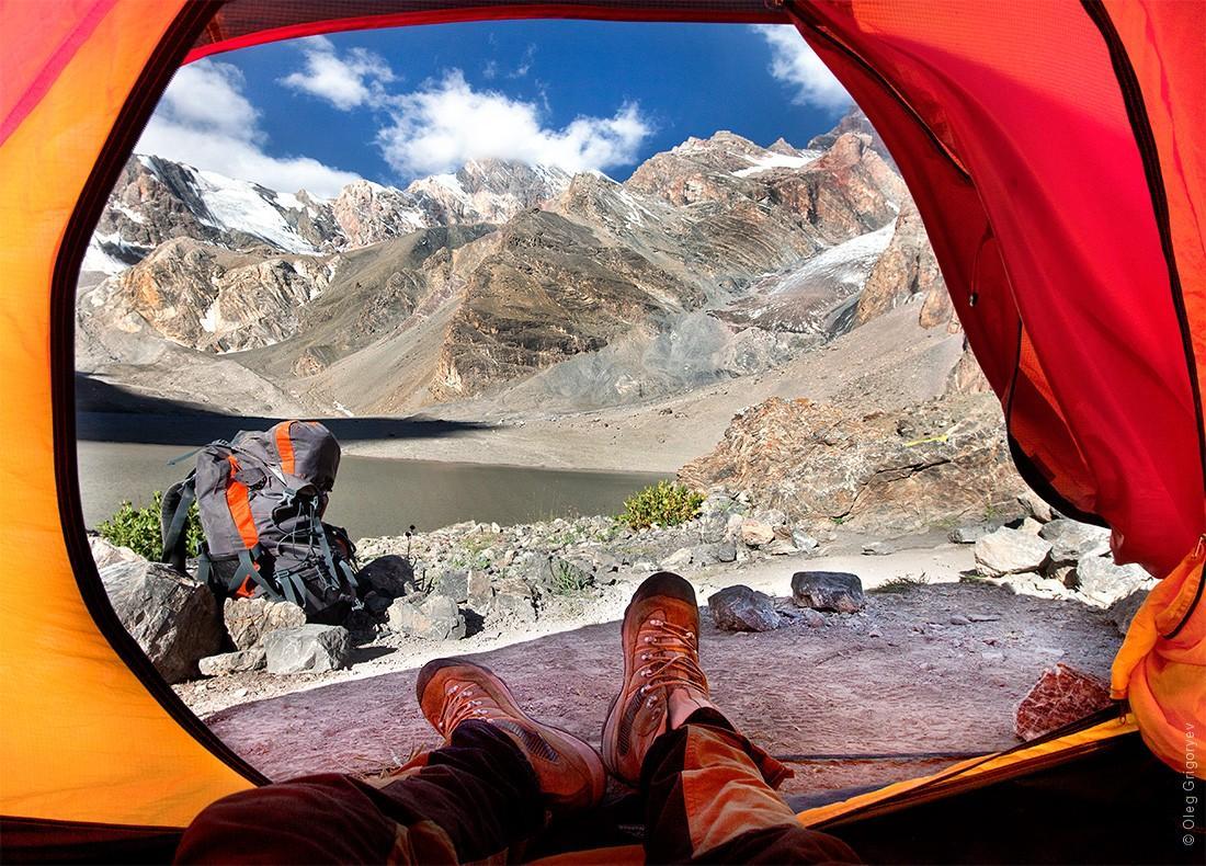них, картинки вид из палатки также помогает спасаться