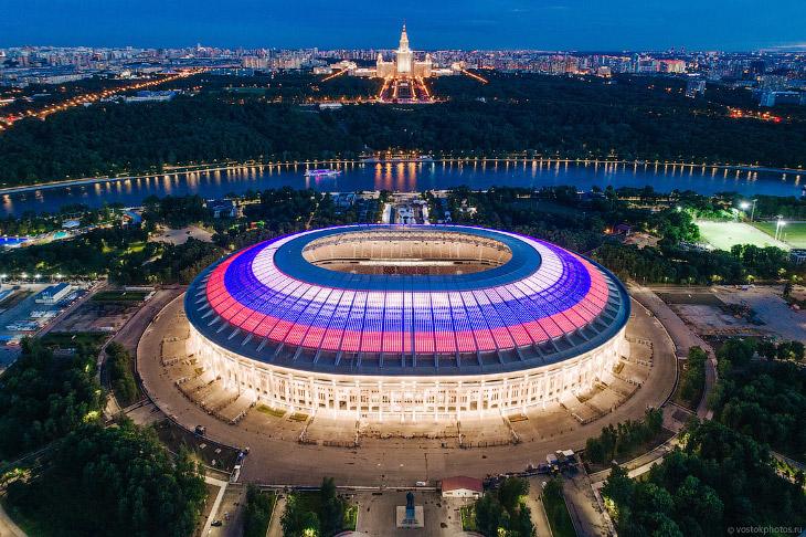 Самый большой стадион в России (44 фото)