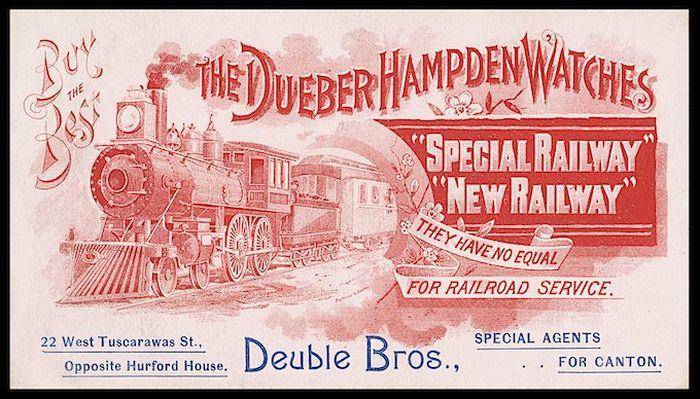 Стране Советов повезло, в это время в США обанкротилась фирма Dueber Hampden — ее станки, материалы