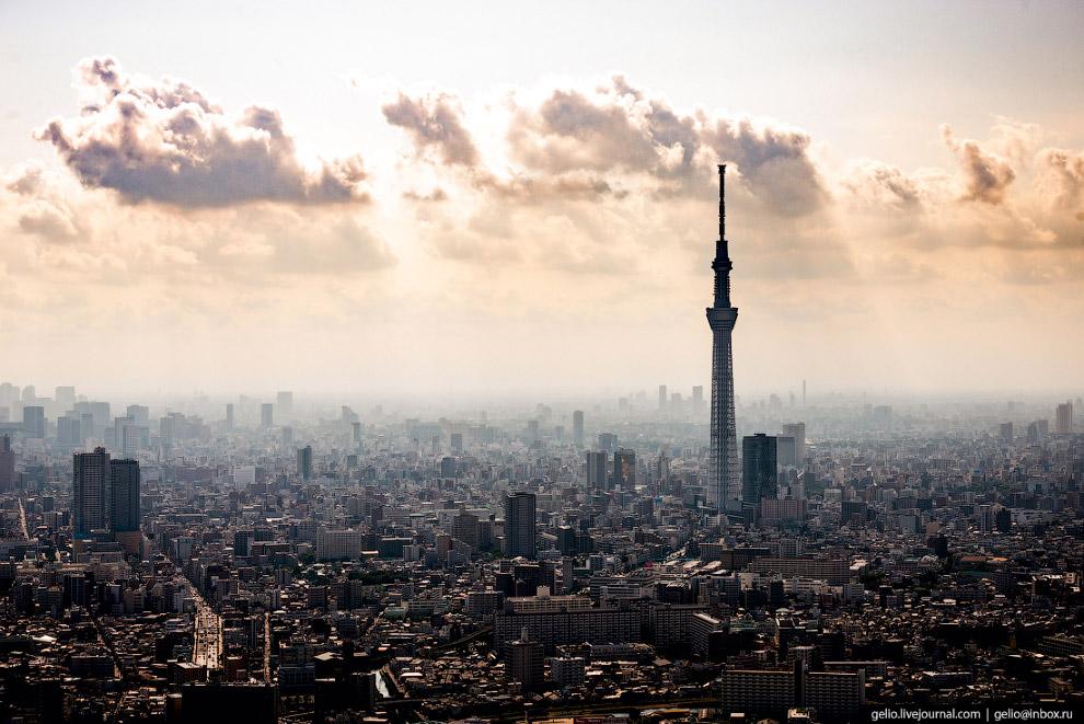 50. Типичная японская городская застройка.
