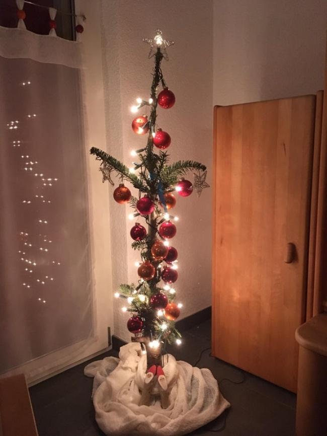 © the_ununpentium/reddit     «Рождественская традиция нашей семьи: находим самое страшнен
