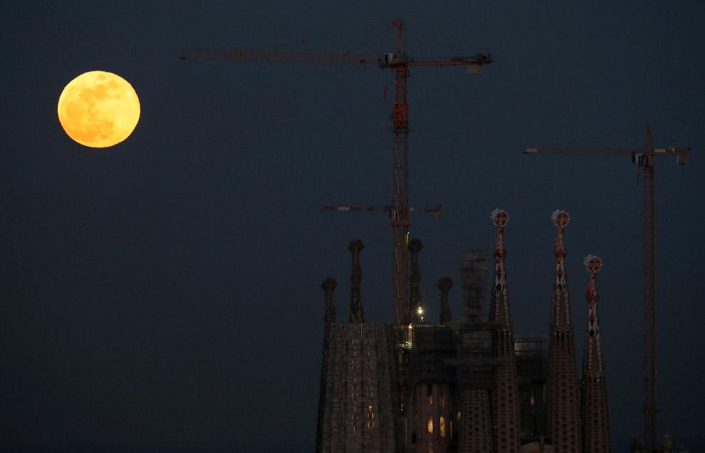 HD космос Луна