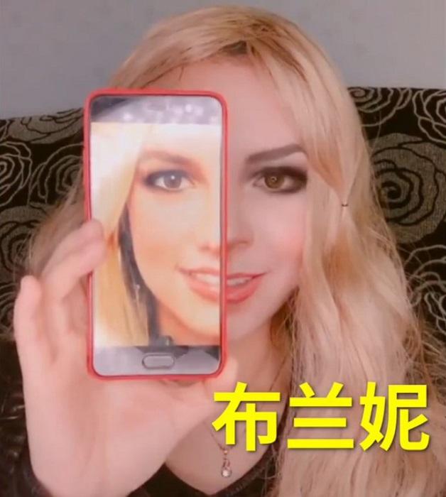 визажист грим двойники Китай макияж перевоплощение