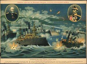 Бомбардирование Порт-Артура и потопление японского крейсера