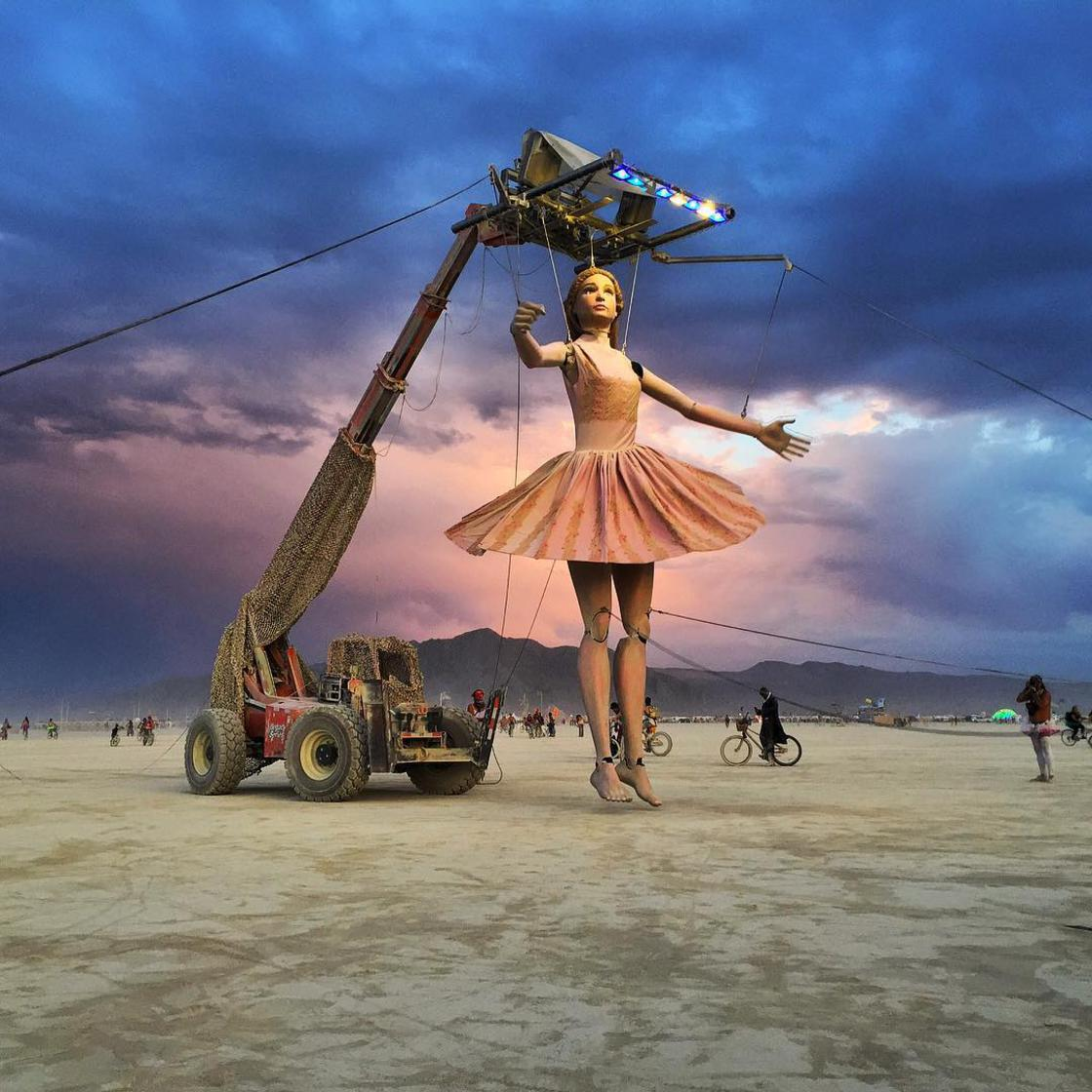 Burning Man 2017 – The first pictures of this crazy festival (32 pics)
