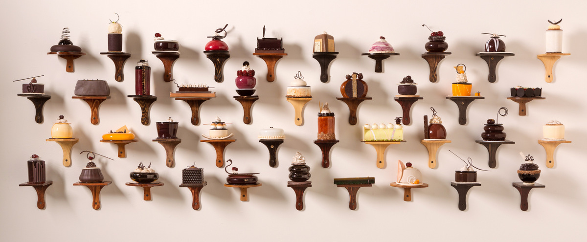 Decadent Pastries Formed From Porcelain and Glass by Shayna Leib