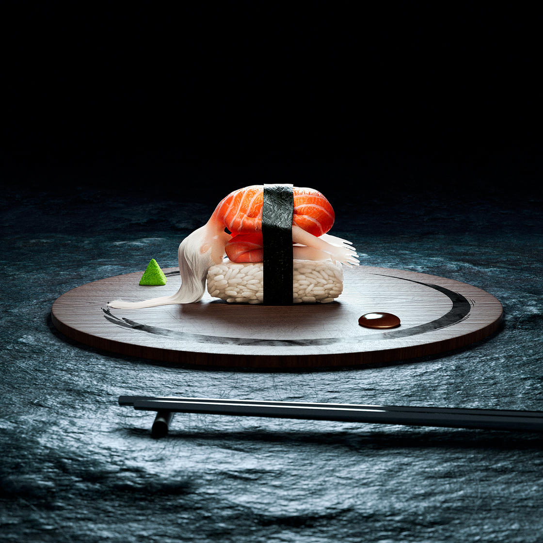 Human Sushi – The surreal and twisted visuals by Masson and Girotto (14 pics)