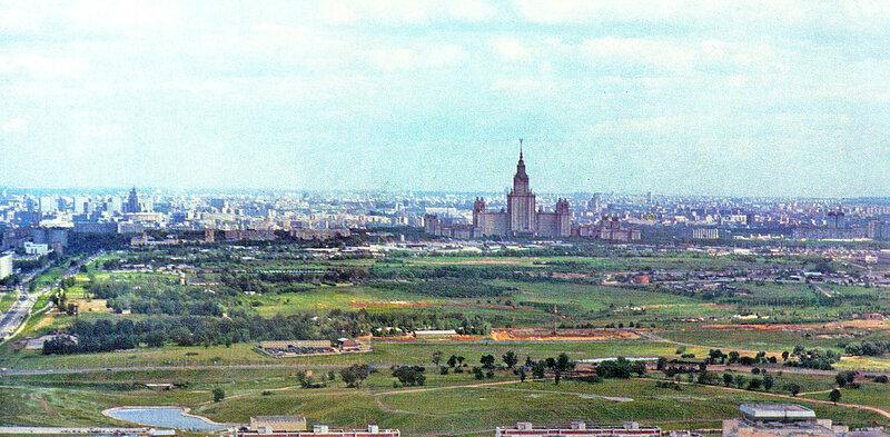 1980 Вид на Олимпийскую деревню3.jpg