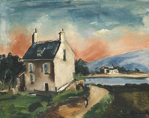 Озеро (Ферма  у  дороги)  1925.
