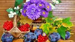 Flower Life Still Composition Fruits Hd Theme Download