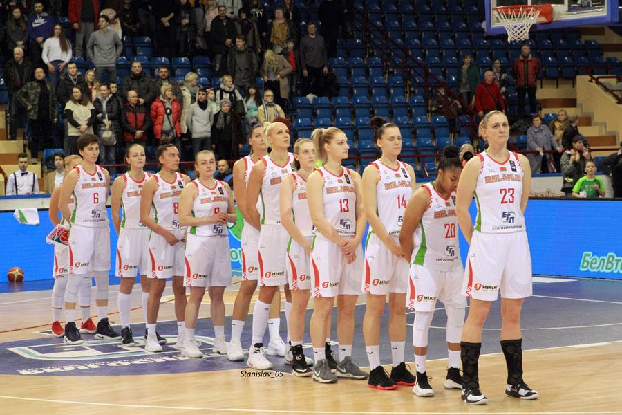 Баскетбол. Белорусочки.