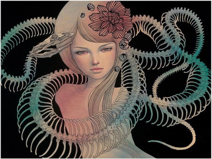 Midnight Reverie - Audrey Kawasaki