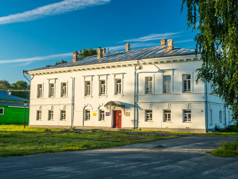 Здание архива.