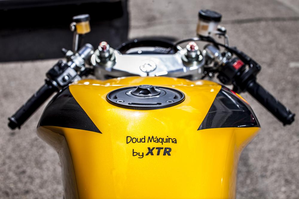XTR Pepo: стритфайтер Ducati 848 Maquina