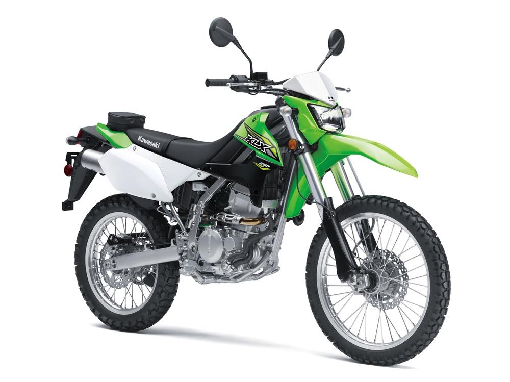 Дуал-спорт Kawasaki KLX250 2018