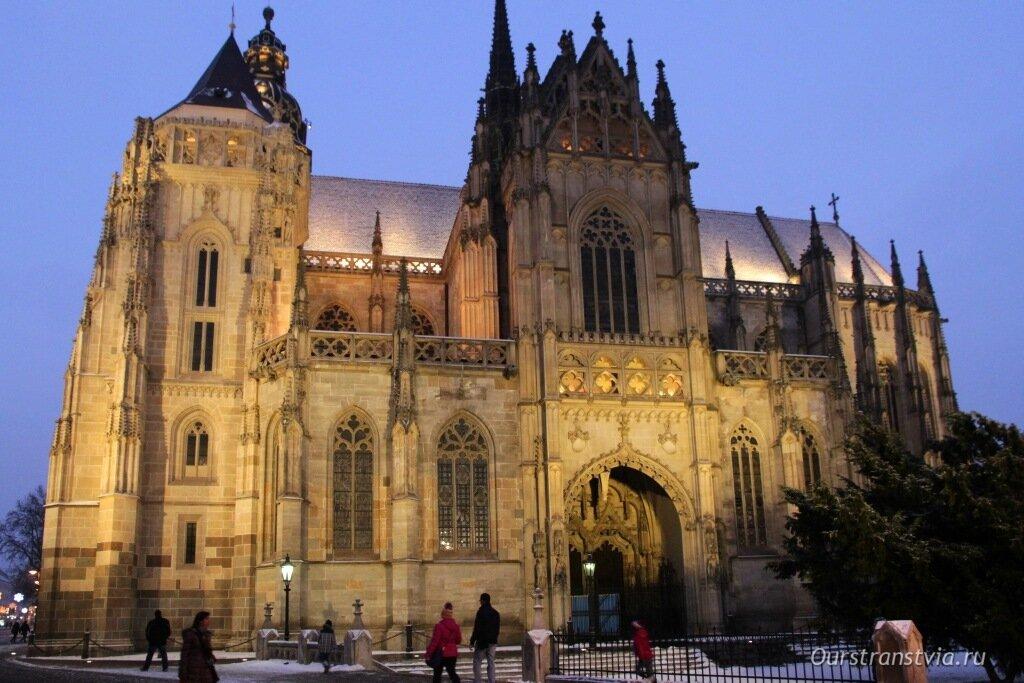 Кафедральный Собор Святой Елизаветы в Кошице, Словакия