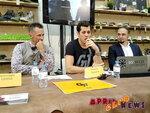 Пресс–конференция трехкратного обладателя кубка Стэнли Евгения Малкина