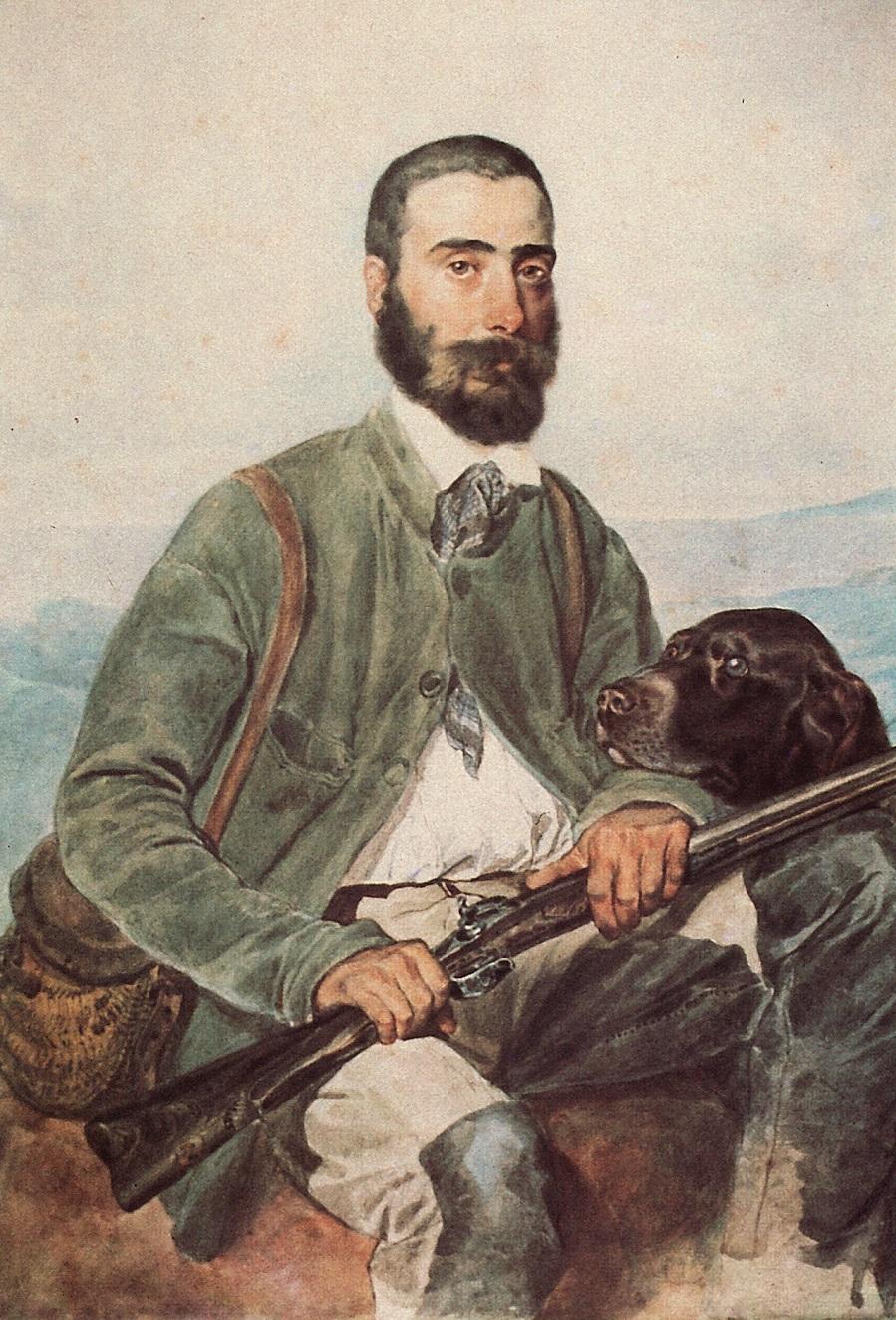 Портрет Мариано Титтони. 1850-1852 Частное собрание