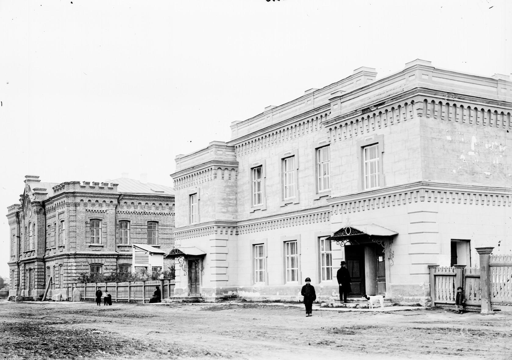 Здание Минусинского публичного музея