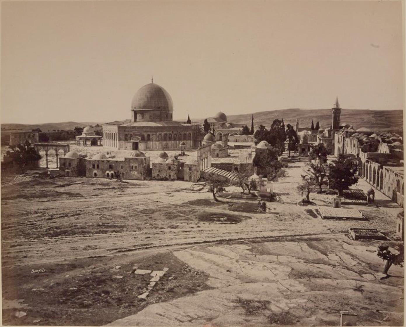 17. Иерусалим. Общий вид мечети Омара