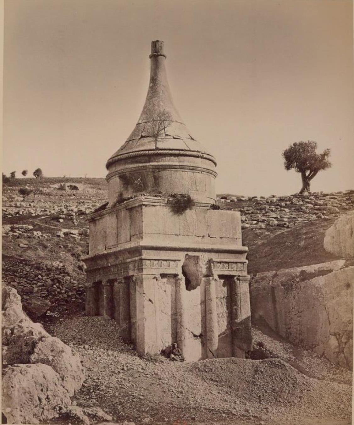 25. Иерусалим. Гробница Авессалома