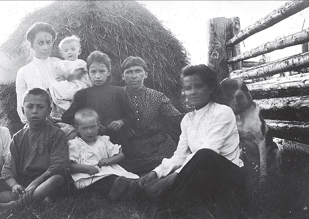 Жители села Фокинского