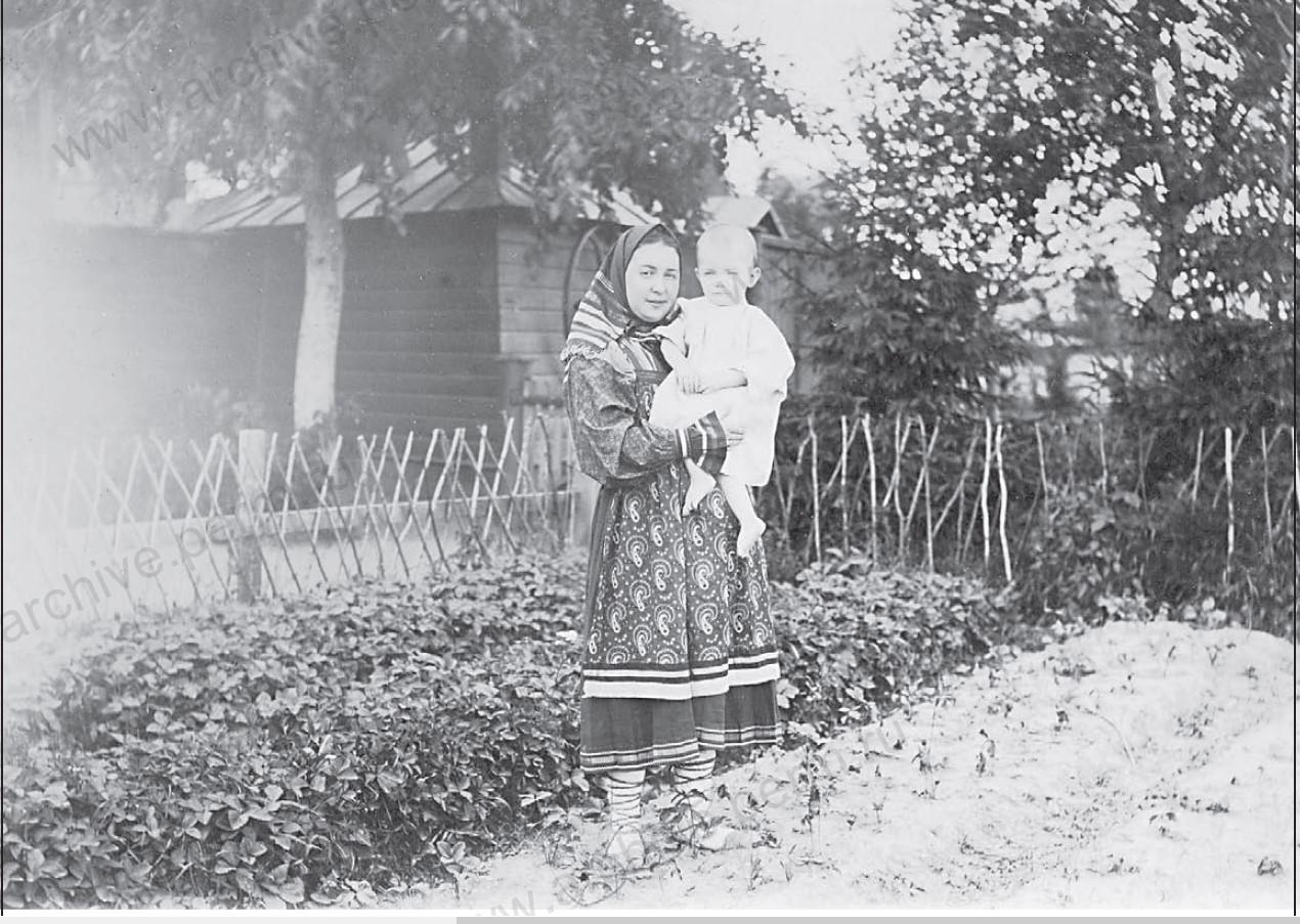 Крестьянка с ребенком