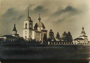 Окрестности Шенкурска. Къяндский погост. Спасо-Преображенская церковь