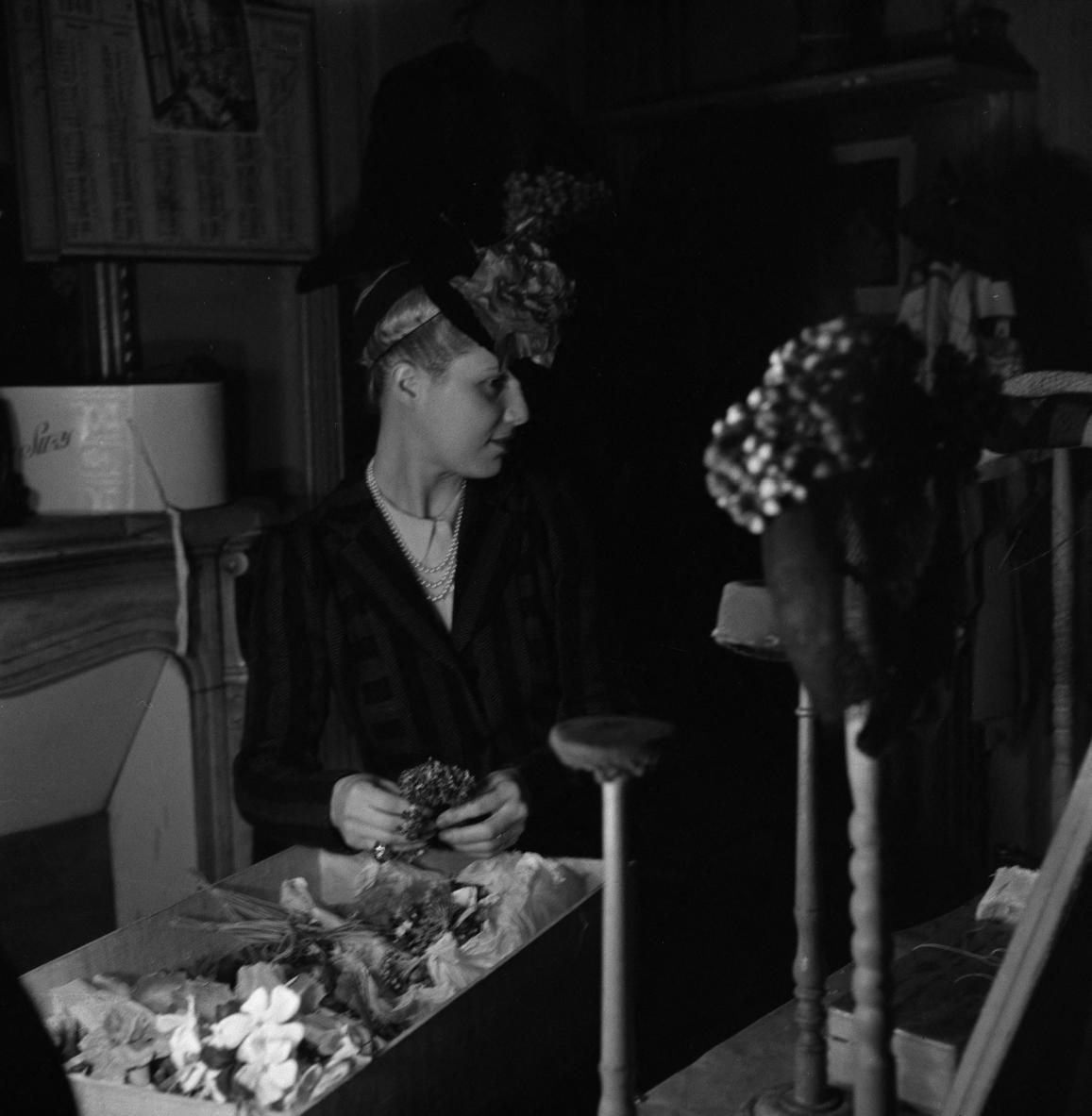 01. Сьюзи, Рю-де-ля-Пэ.  Создание коллекции шляп