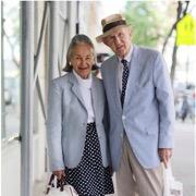 пожилая пара