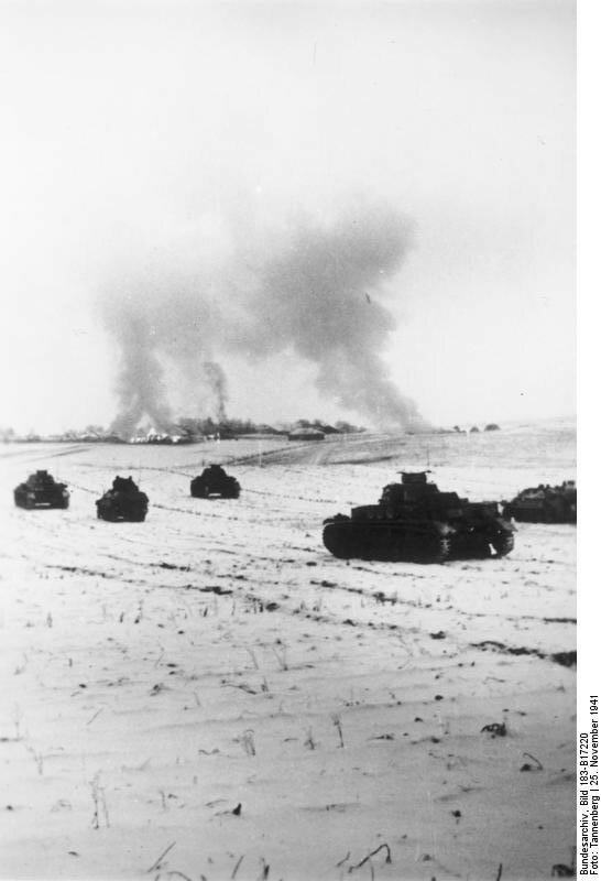 Sowjetunion, Panzerangriff bei Istra